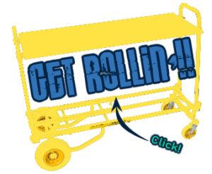 The RocknRoller Gear cart!!