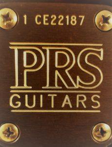 PRS neckplate