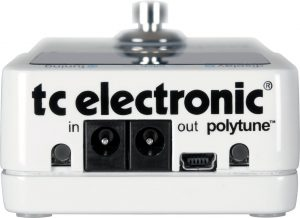 TC Electronic Polytune 2 back plate