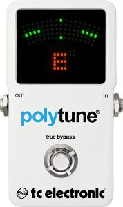 TC Electronic Polytune 2 single string tune