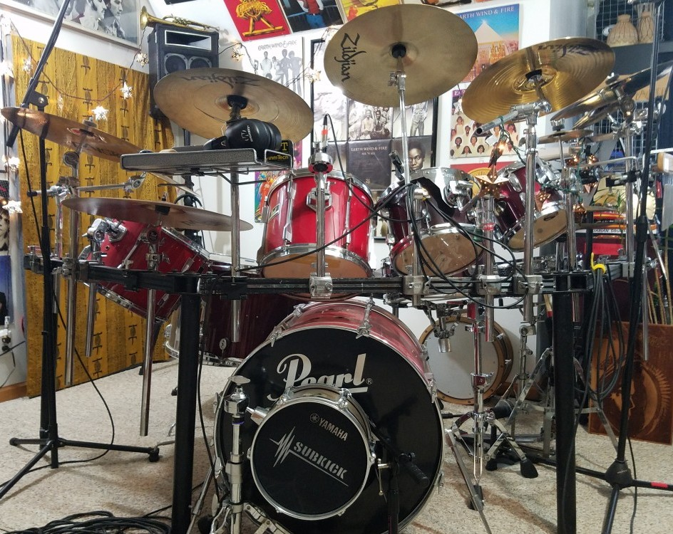 "Teaj's studio multi-genre kit, ""record-ready"""