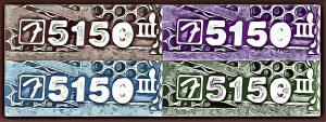5150 iii badge cartooned