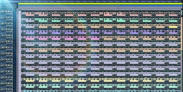 Learning how to mix a song when tracks are full