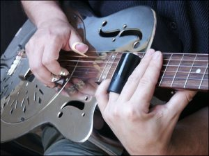 Slide on a Resonator Guitar