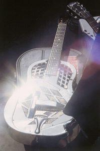 National Tri-cone resonator guitar