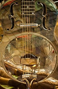 Resonator Guitar Top