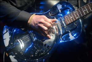 Bruce Cockburn's Resonator Guitar