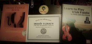 Fiddle books led me to bodhran playing