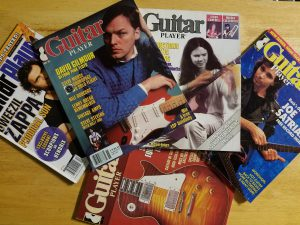 Guitar Player mags