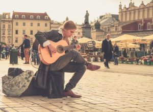 Street guitarists like Acoustic easy guitar songs