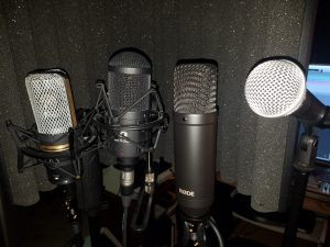Vocal mic shootout, with the NT1