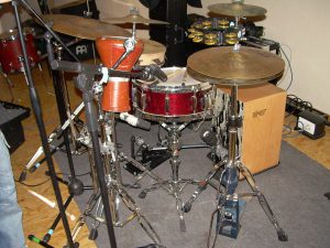 The cajon as a kick drum