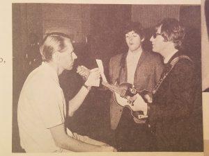 Martin with Paul & John
