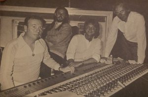Martin, with his engineer Geoff Emerick & America