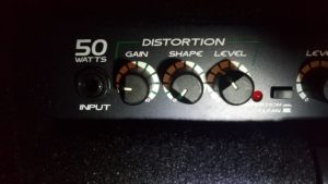 BT50 Distortion Section