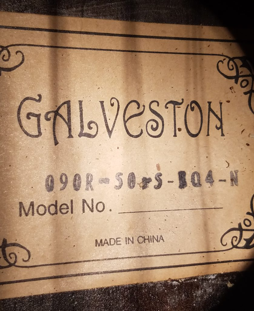 Galveston bass Label