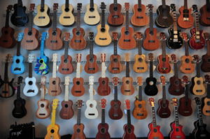 Leleland ukulele shop in Berlin