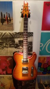 The Austin AU962 Tele-style guitar