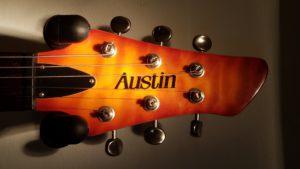 Austin Telecaster headstock