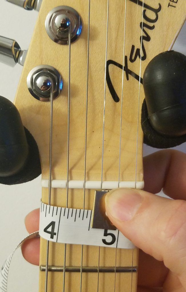 the Tele thick neck