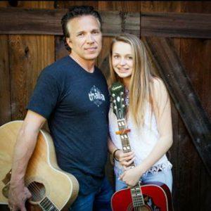 Chris & his daughter Thalia