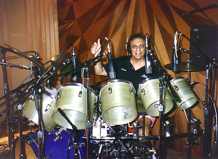Hal Blaine on Ludwig drums
