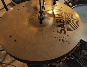 """Sabian 14"""" AA """"Rock Sizzle"""" Hi Hats"""