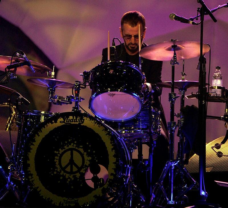Ringo Starr, still playing Ludwigs!