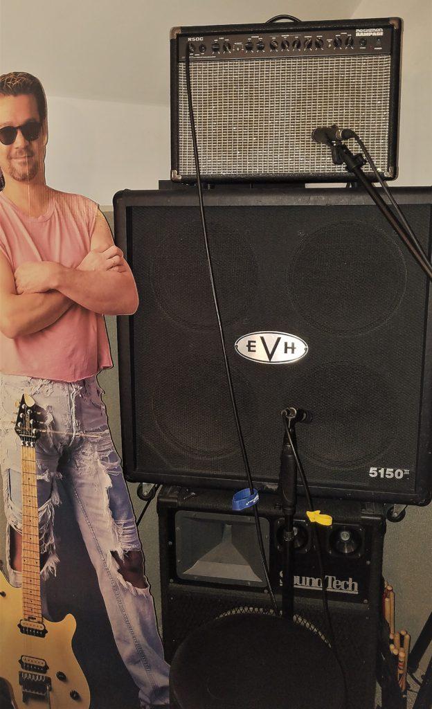 Rocktron R50C amp stack