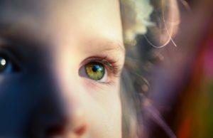 kids curious eyes