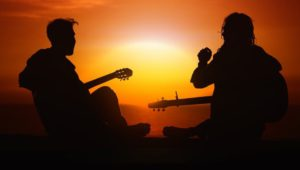 sunset guitars