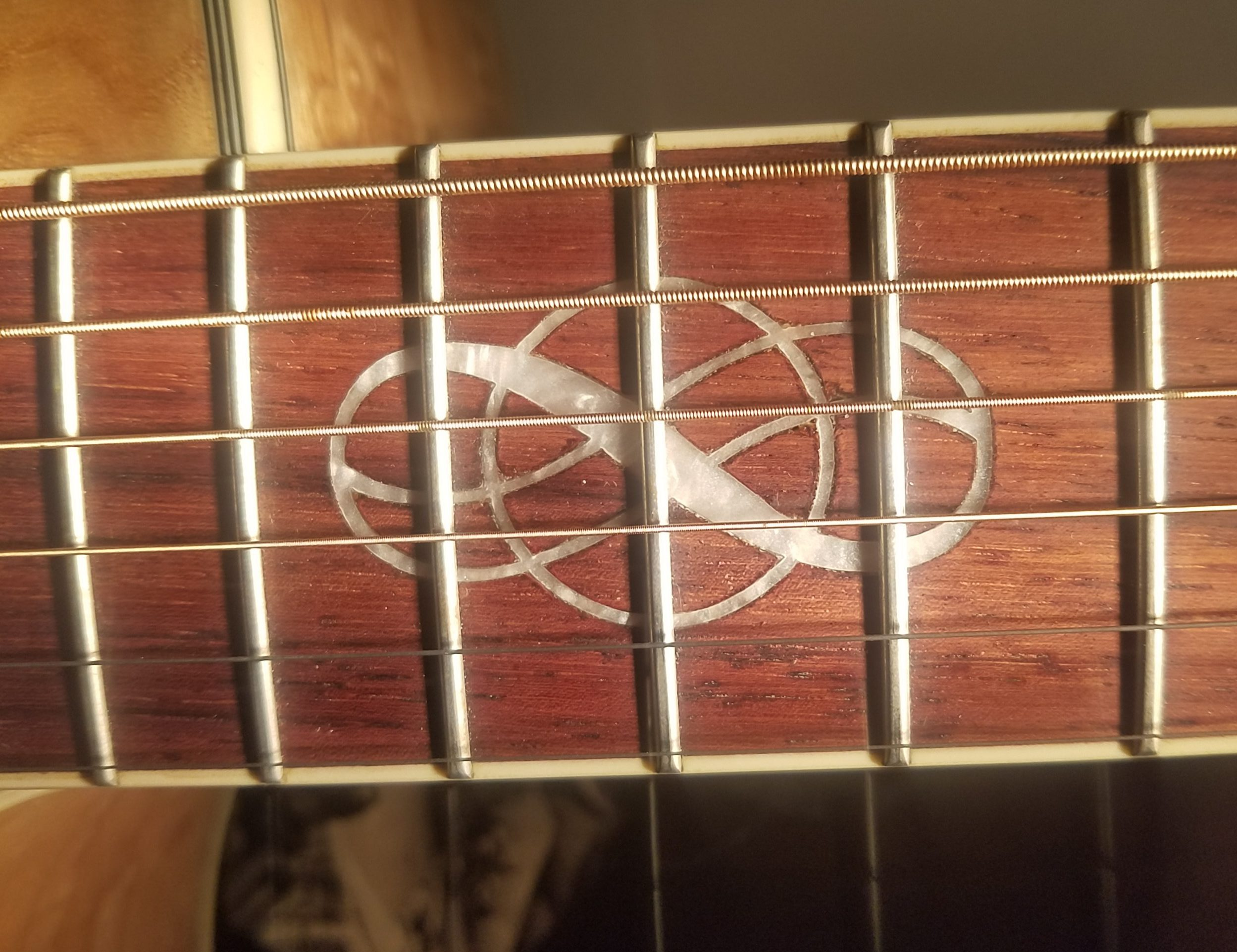 Ibanez acoustic guitar Inlay