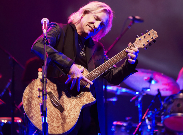 Joe Walsh playing an Ibanez EW