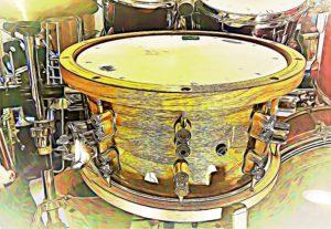 PDP snare CARTOONED
