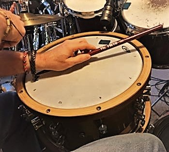 side stickin' on my PDP snare!