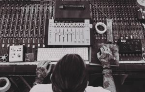 tattooed mix engineer