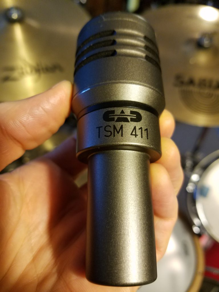 the CAD 411 snare mic
