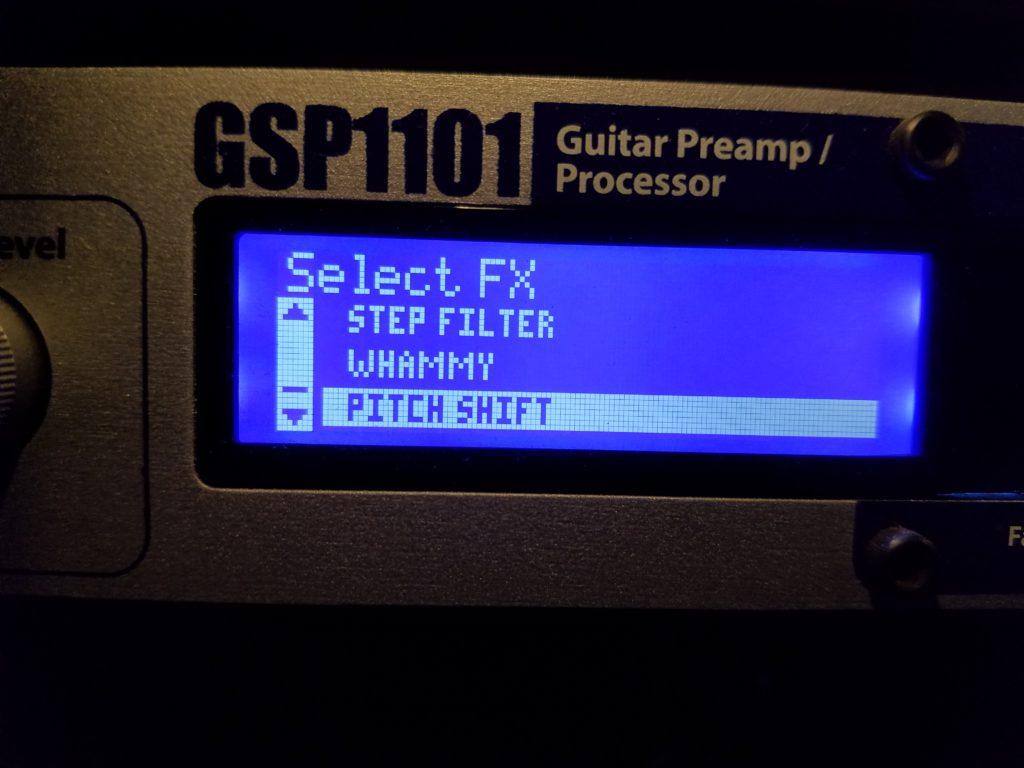 GSP1101 Whammy patch