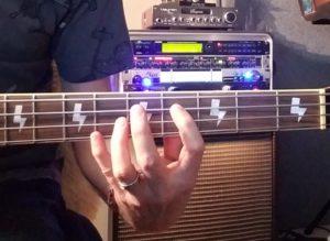 MAJOR THIRD bass fingering
