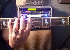 MINOR 3RD Up bass fingering
