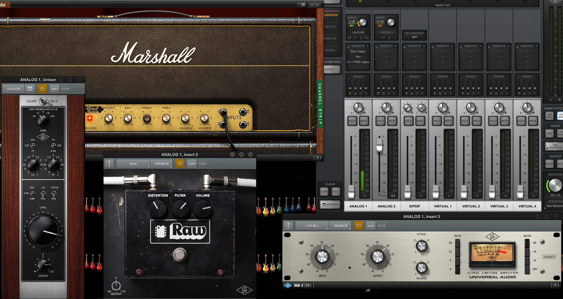 UAD plug ins – Gear Acquisition Syndrome!!