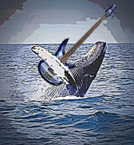 Whale-splashing CARTOONED with BASS