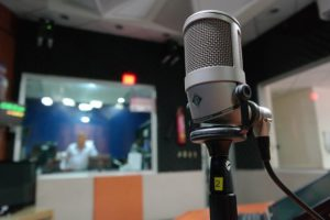 mic & control room windows