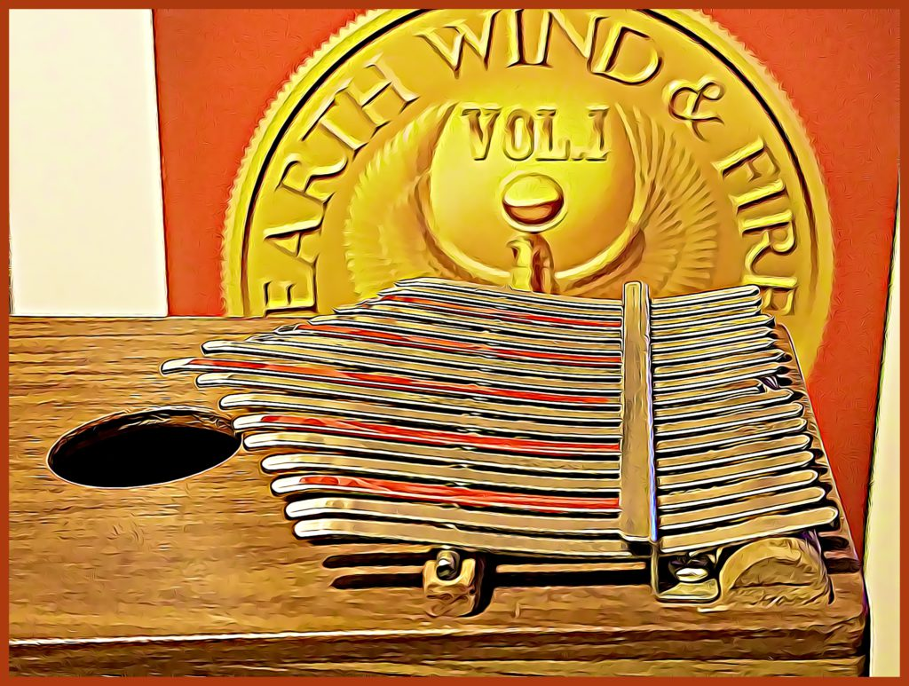 Kalimba EWF album CARTOONED