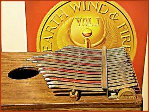 Kalimba EWF album CARTOONED