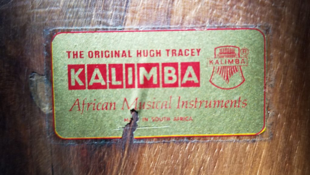 Kalimba badge