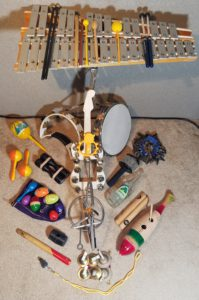 Percussion arsenal