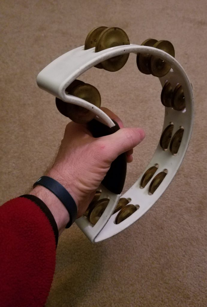 RhythmTech tambourine