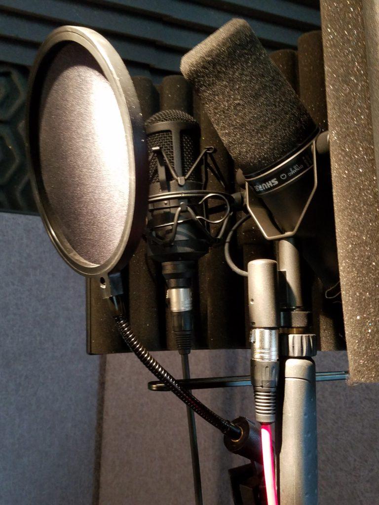 SM7B and Oktava mic