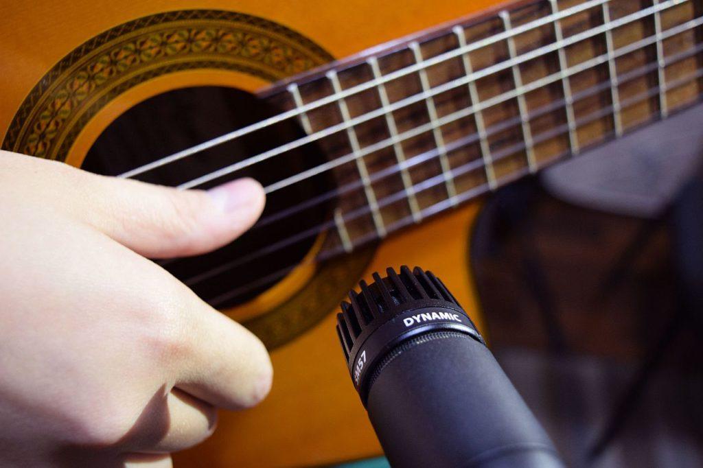 mic & guitar